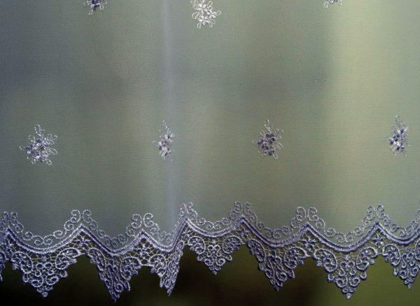 Firana na tiulu wys. do 180 cm bez prasowania
