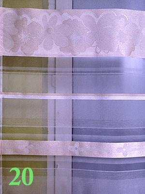 Panele firany 60x245 różne kolory-WYPRZEDAŻ